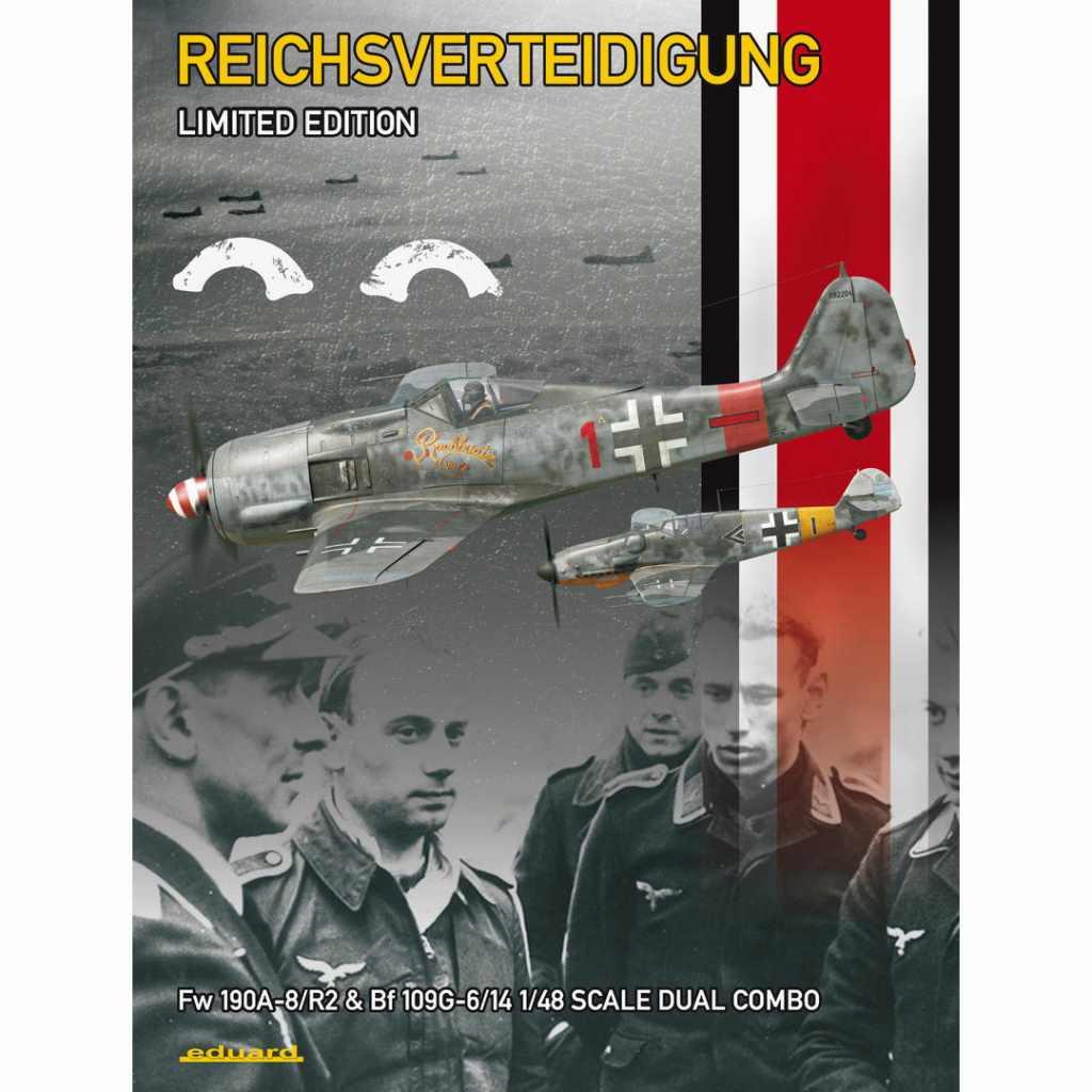 【新製品】11119 ドイツ本土防衛航空隊 Fw190A-8/R2 & Bf109G-6/14 2キット入り リミテッドエディション