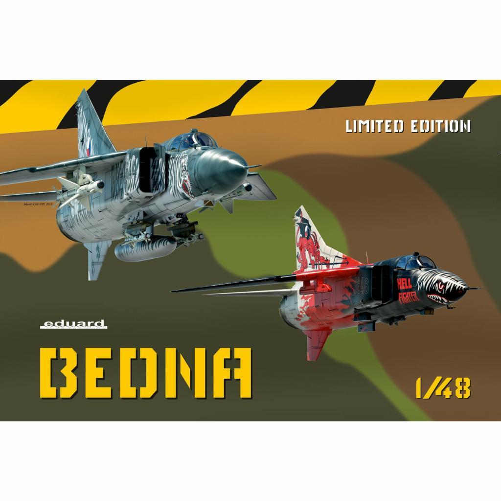 【新製品】11120 「べドゥナ」 MiG-23MF/ML フロッガー リミテッドエディション