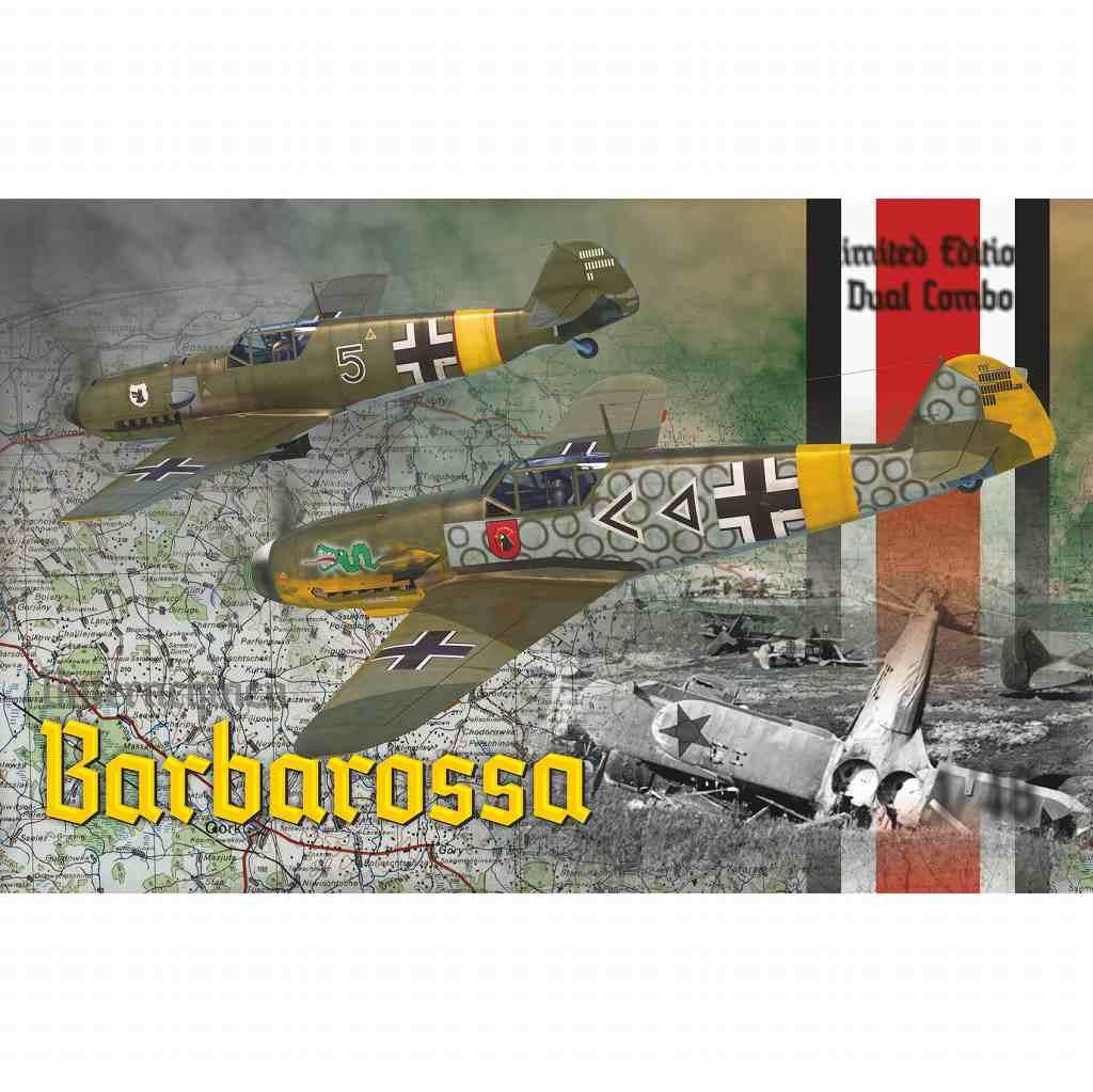 【新製品】11127 「バルバロッサ作戦」 メッサーシュミット Bf109E/F デュアルコンボ リミテッドエディション
