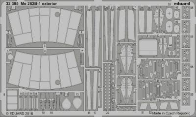 【新製品】32395)メッサーシュミット Me262B-1 外装