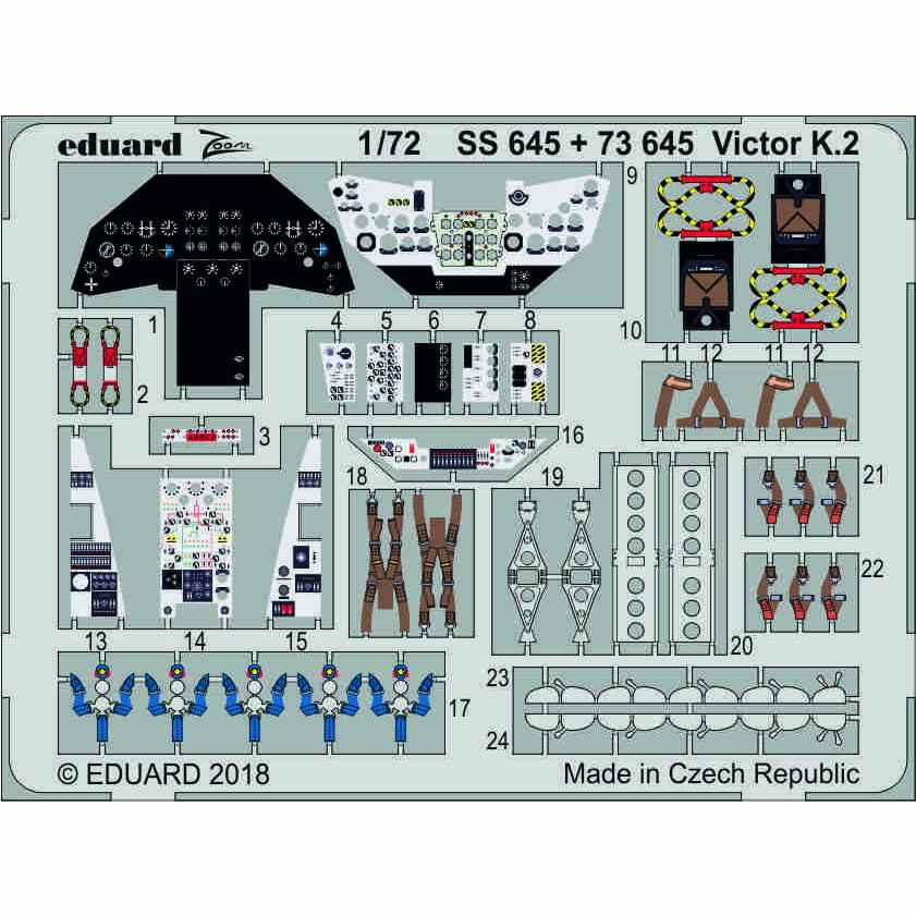 【新製品】SS645 塗装済 ハンドレページ ヴィクターK.2