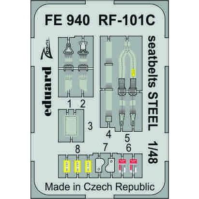 【新製品】FE940 塗装済 RF-101C シートベルト