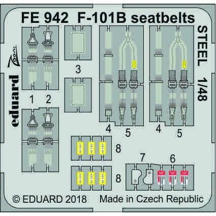 【新製品】FE942 塗装済 F-101B シートベルト