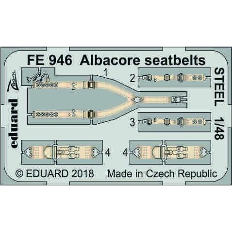 【新製品】FE946 塗装済 フェアリー アルバコア シートベルト