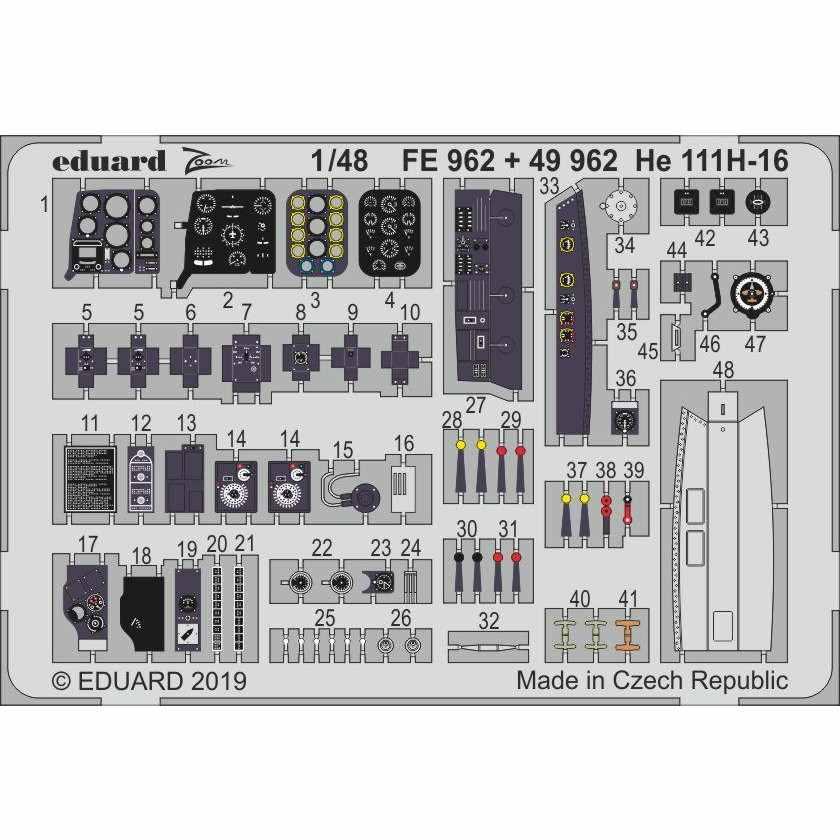 【新製品】FE962 塗装済 ハインケル He111H-16