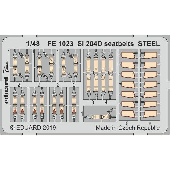 【新製品】FE1023 塗装済 ジーベル Si 204D シートベルト (ステンレス製)(スペシャルホビー用)
