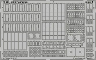 【新製品】48905)MiG-27 フロッガー 武装
