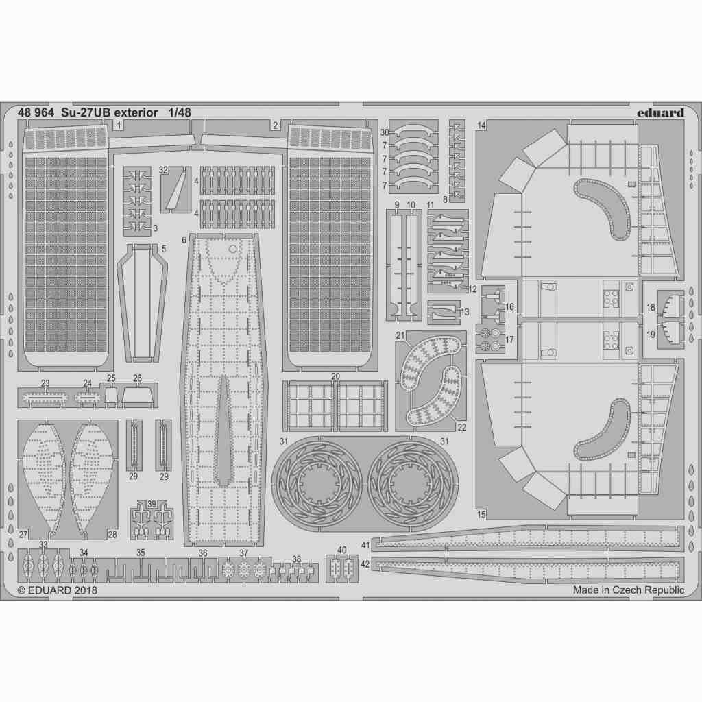 【新製品】48964 スホーイ Su-27UB フランカー 外装