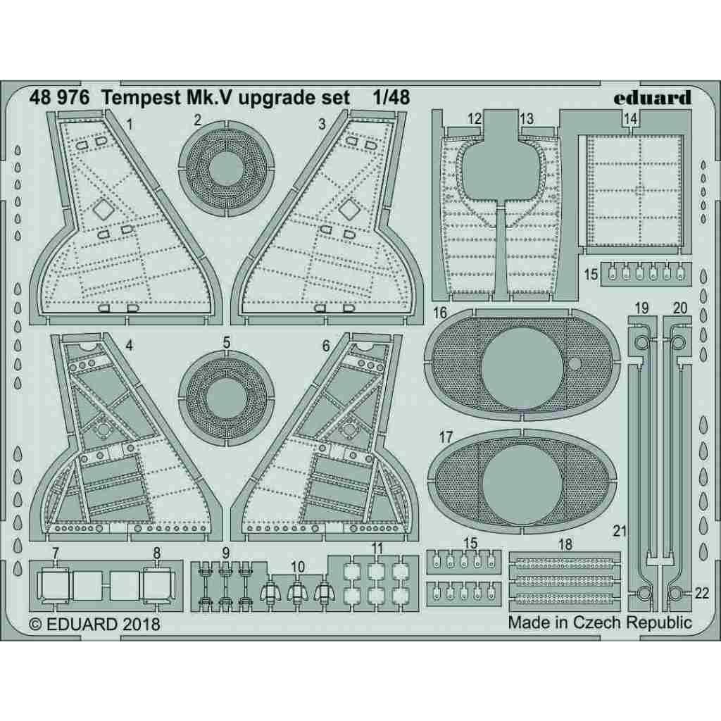 【新製品】48976 テンペストMk.V アップグレードセット