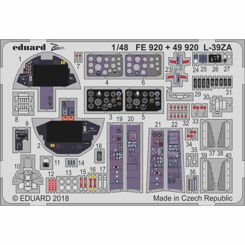 【新製品】49920 塗装済 アエロ L-39ZA アルバトロス