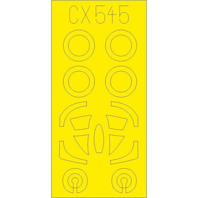 【新製品】CX545 ダグラス A-4E スカイホーク 塗装マスクシール (ホビーボス用)