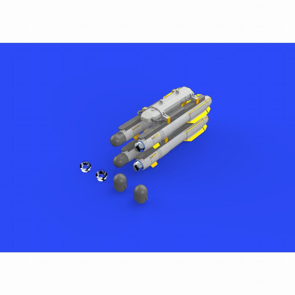 【新製品】EX653 スーパーマリン スピットファイア FR Mk.XIV 塗装マスクシール(エアフィックス用)