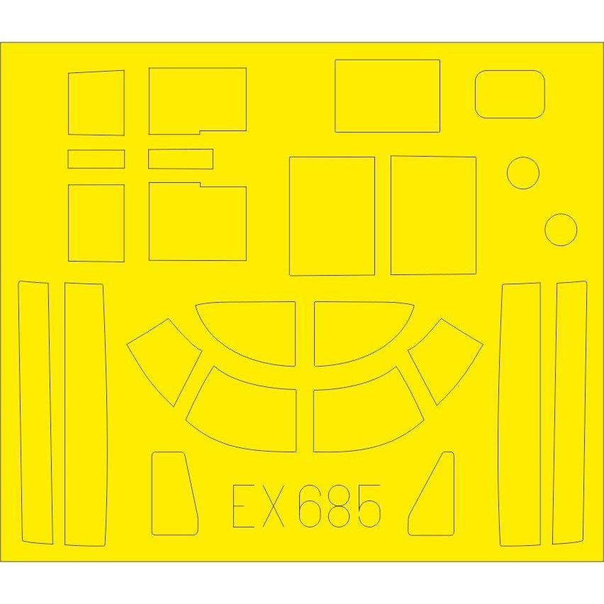 【新製品】EX685 ダグラス A-26B インベーダー 塗装マスクシール (ICM用)