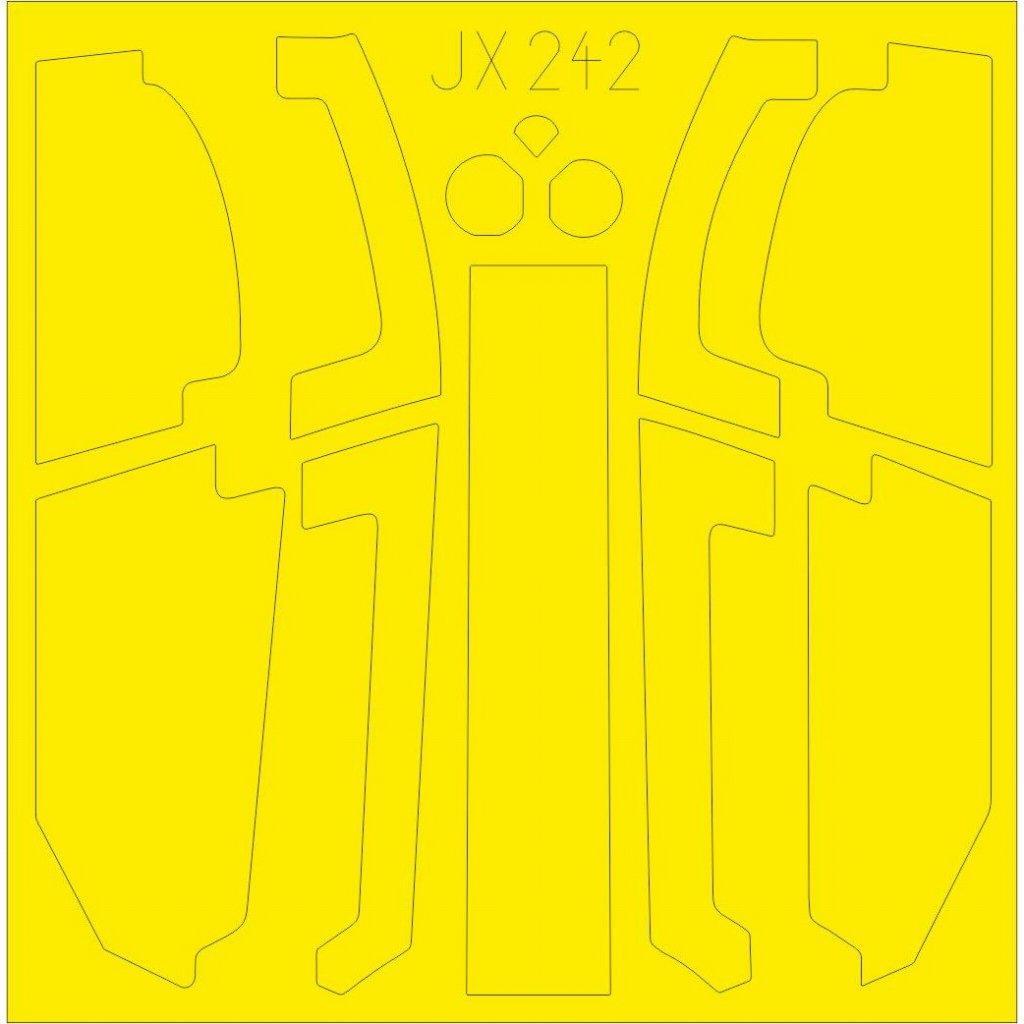 【新製品】JX242 AH-1Z ヴァイパー 塗装マスクシール (アカデミー用)
