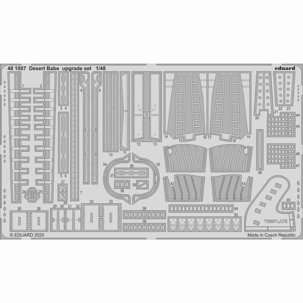 【新製品】481007 「デザート・ベーブ」 トーネード GR.1 アップグレードパーツ (エデュアルド用)