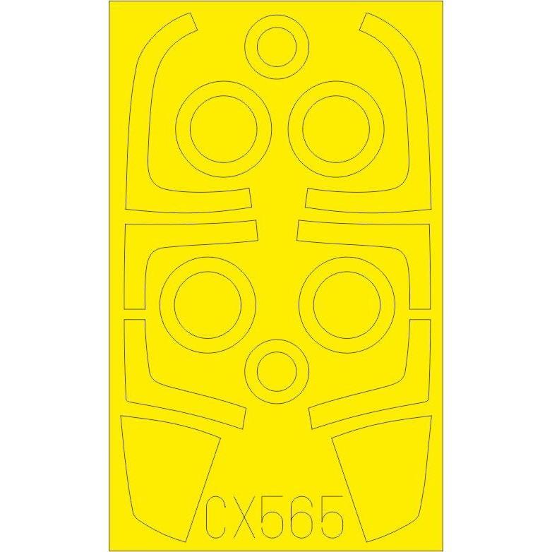【新製品】CX565 F-15I 塗装マスクシール (グレートウォール用)