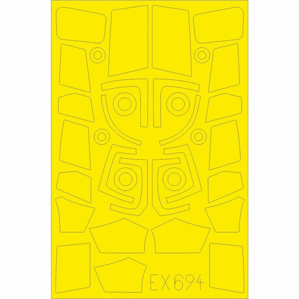 【新製品】EX694 SA.365N 塗装マスクシール (キティーホーク用)