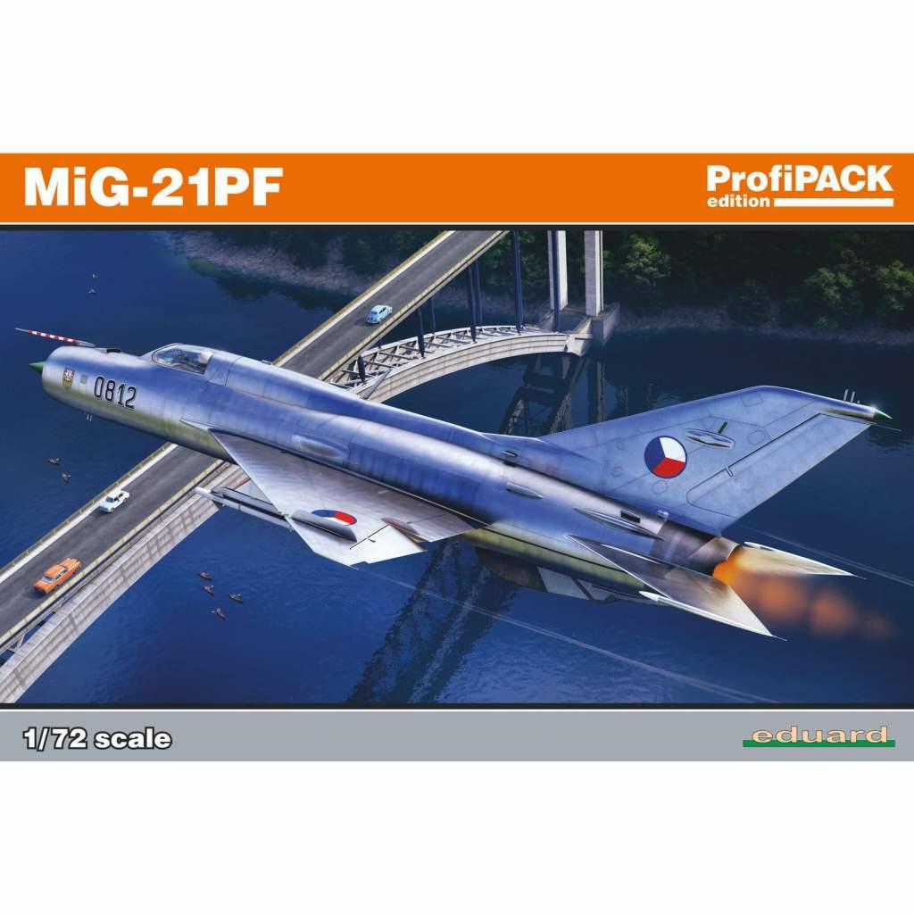 【新製品】70143 ミグ MiG-21PF フィッシュベッド プロフィパック