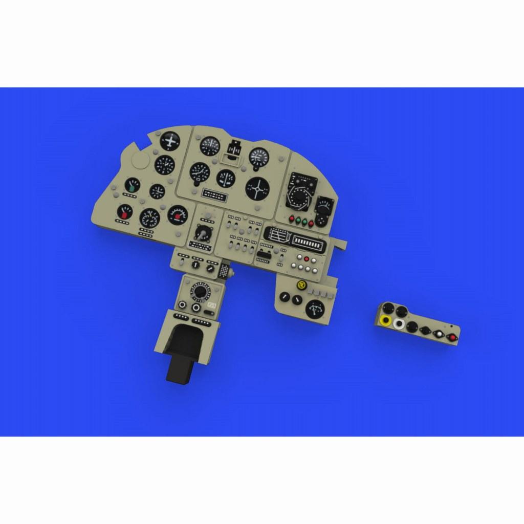 【新製品】ルック644042 イリューシン Il-2 シュトルモビク 「ルック」計器盤 (タミヤ用)