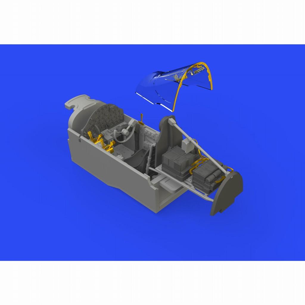 【新製品】ブラッシン648545 ロッキード P-38G ライトニング コックピットセット (タミヤ用)