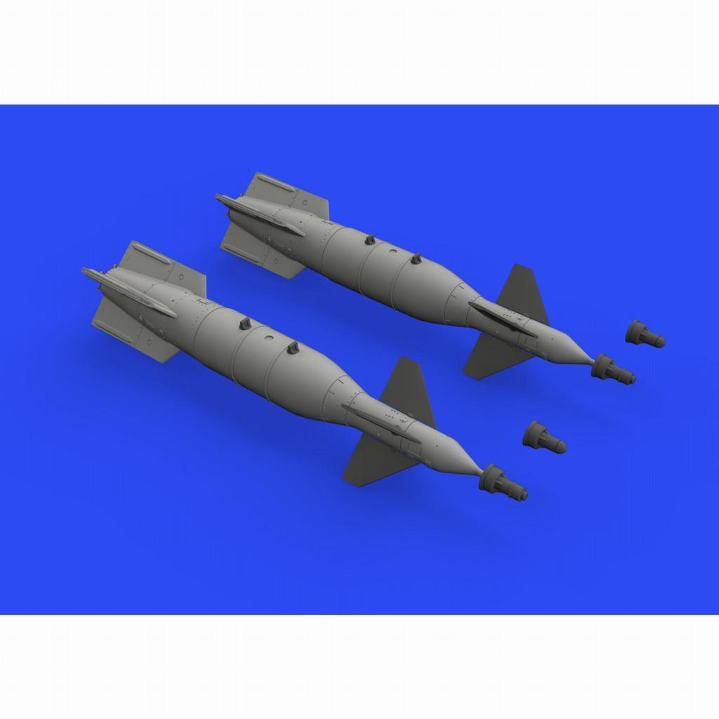 【新製品】ブラッシン648550 CPU-123 1000ポンド ペイブウェイII爆弾 (英軍用)(2個入り)