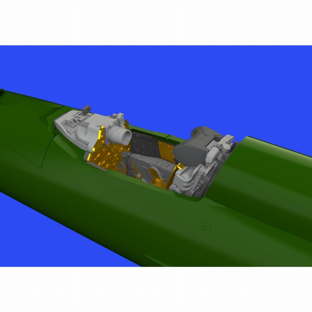 【新製品】ブラッシン672234 ミグ MiG-21PFM フィッシュベッド コックピットセット (エデュアルド用)