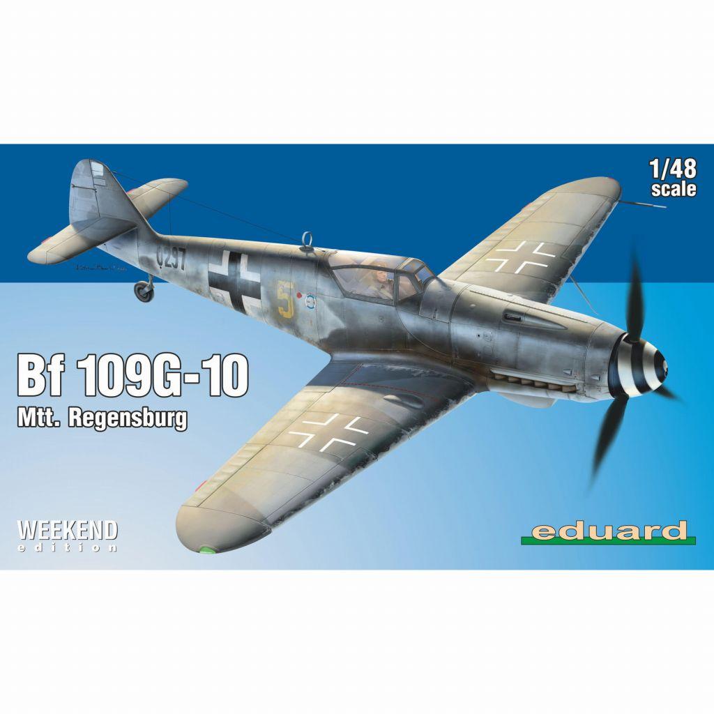 【新製品】84168 メッサーシュミット Bf109G-10 MTT レーゲンスブルク工場生産 ウィークエンドエディション