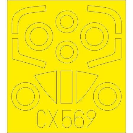 【新製品】CX569 A-4M スカイホーク 塗装マスクシール (フジミ/ホビー2000用)