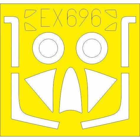 【新製品】EX696 ホーカー ハンター F.4/F.5 塗装マスクシール(エアフィックス用)