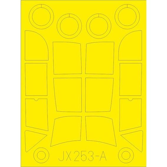 【新製品】JX253 メッサーシュミット Bf108 タイフーン
