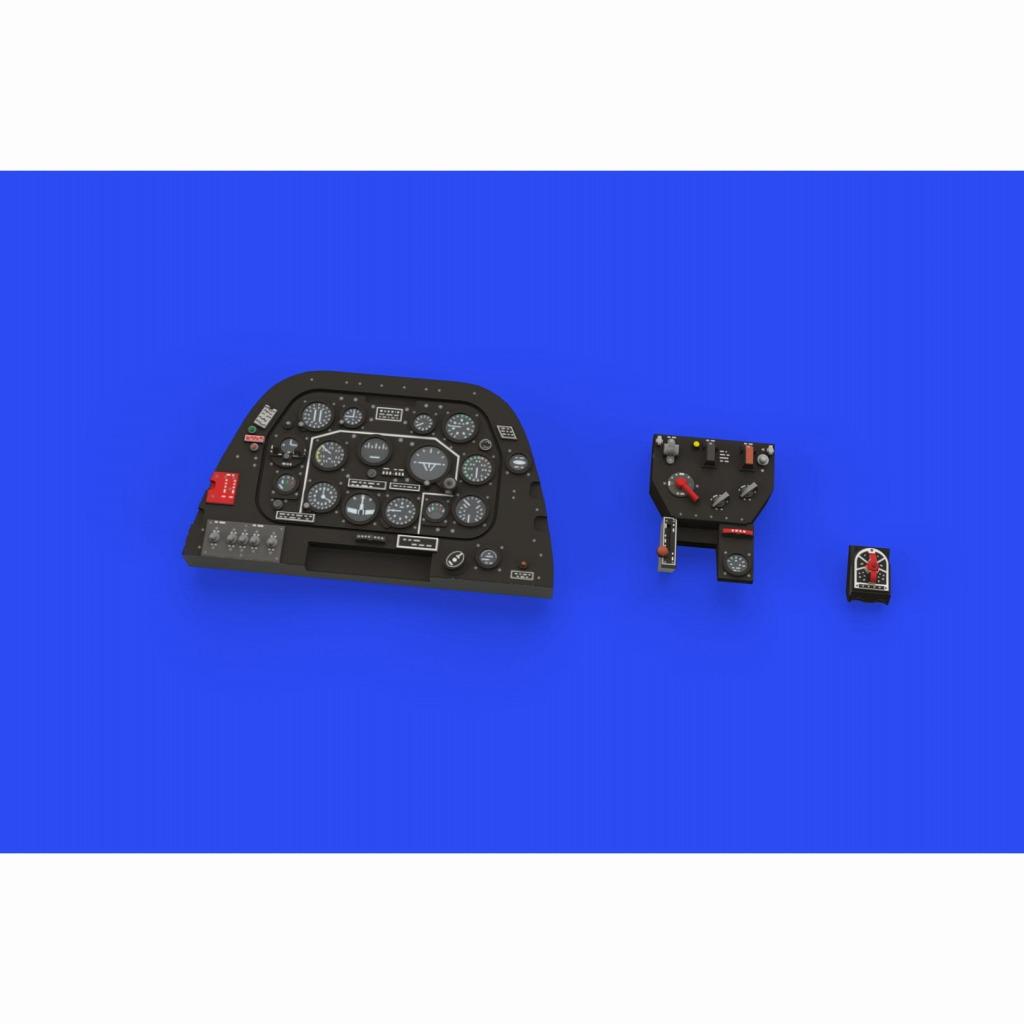 【新製品】ルック644049 P-51D-5 「ルック」 計器盤