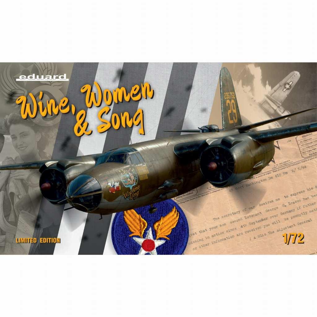 【新製品】2129 マーティン B-26B/C マローダー 「酒と女と歌」 リミテッドエディション