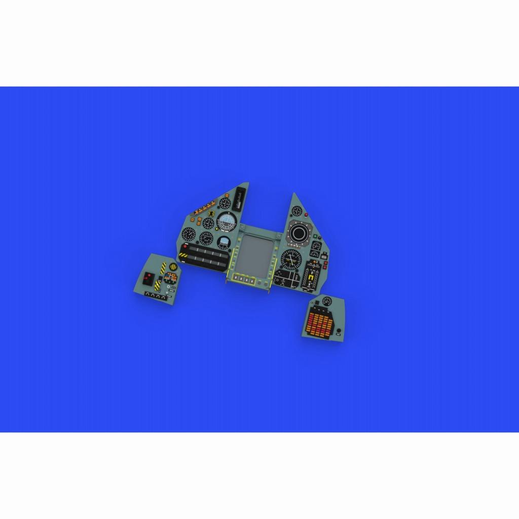 【新製品】ルック634018 ミラージュ2000C 「ルック」計器盤 (キティーホーク用)