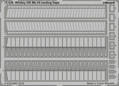 【新製品】72636)ホイットワース ホイットレー GR Mk.VII フラップ