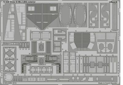 【新製品】72638)ハンドレページ ヴィクターB Mk.2 外装