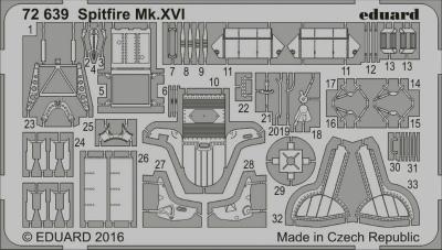 【新製品】72639)スーパーマリン スピットファイア Mk.XVI