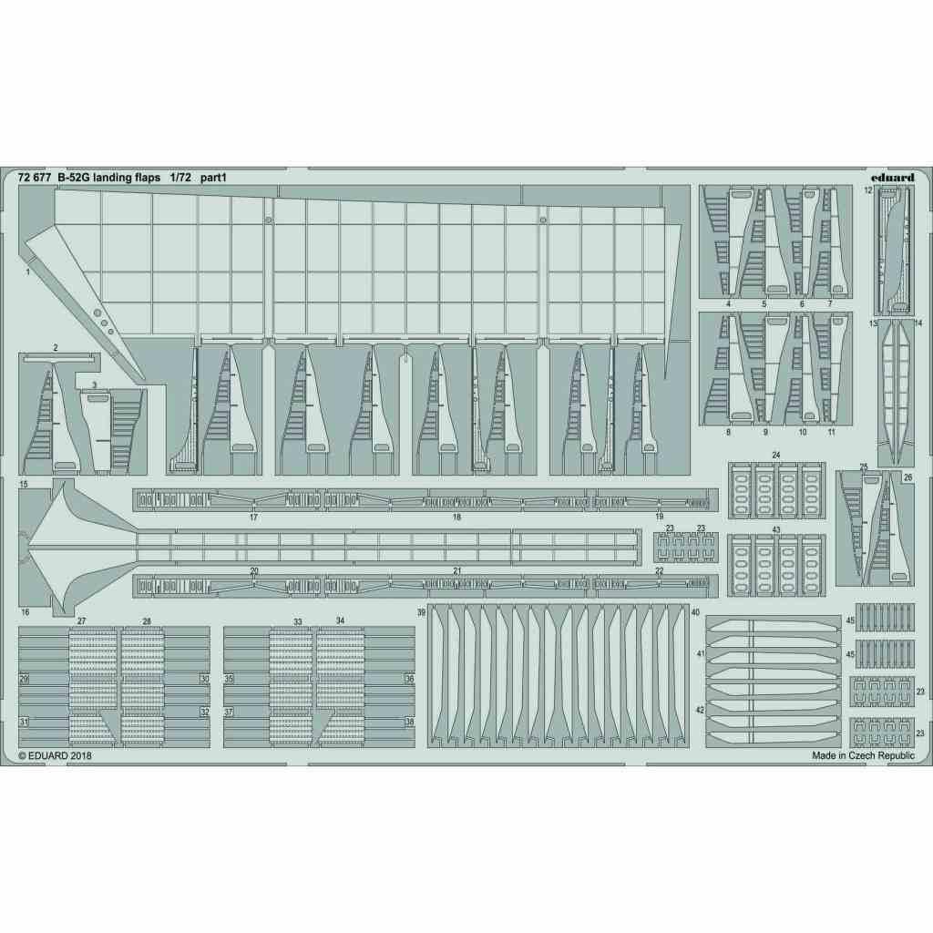 【新製品】72677 B-52G ランディングフラップ