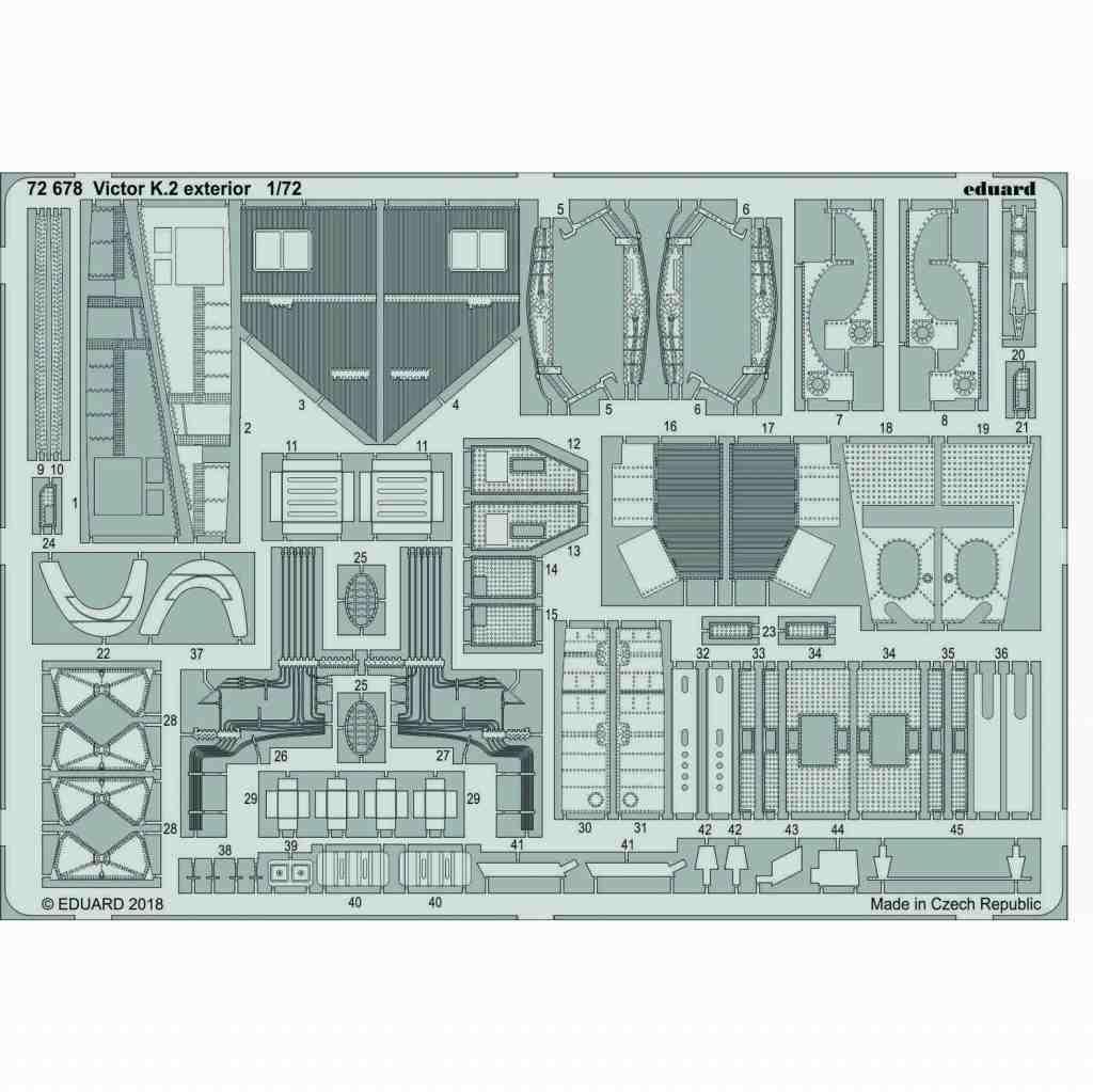 【新製品】72678 ハンドレページ ヴィクターK.2 外装