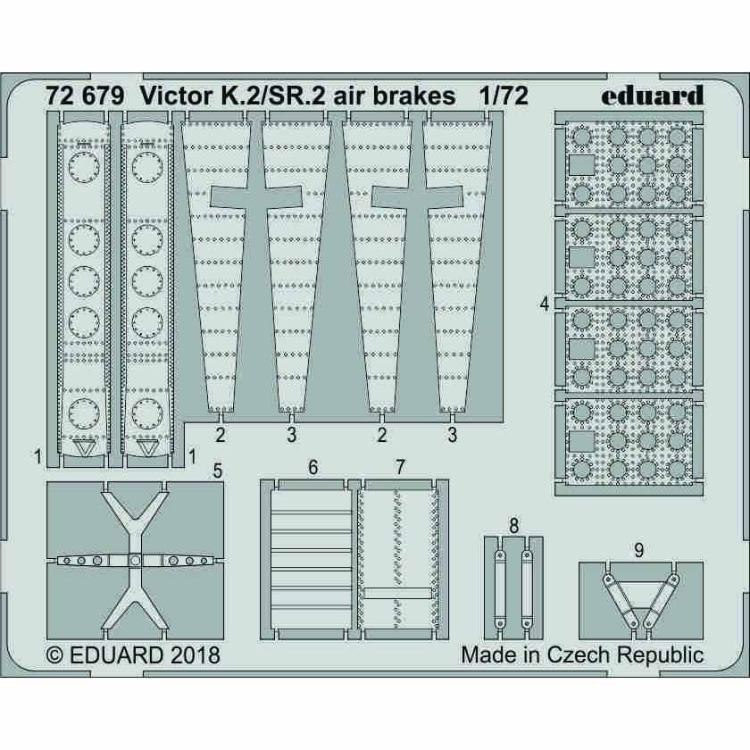 【新製品】72679 ハンドレページ ヴィクターK.2/SR.2 エアブレーキ