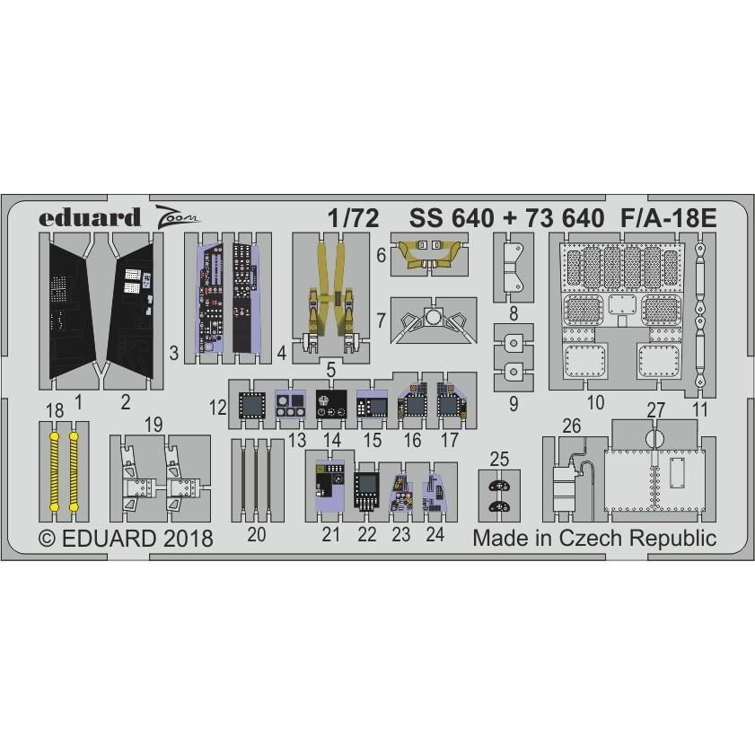 【新製品】73640 塗装済 F/A-18E スーパーホーネット