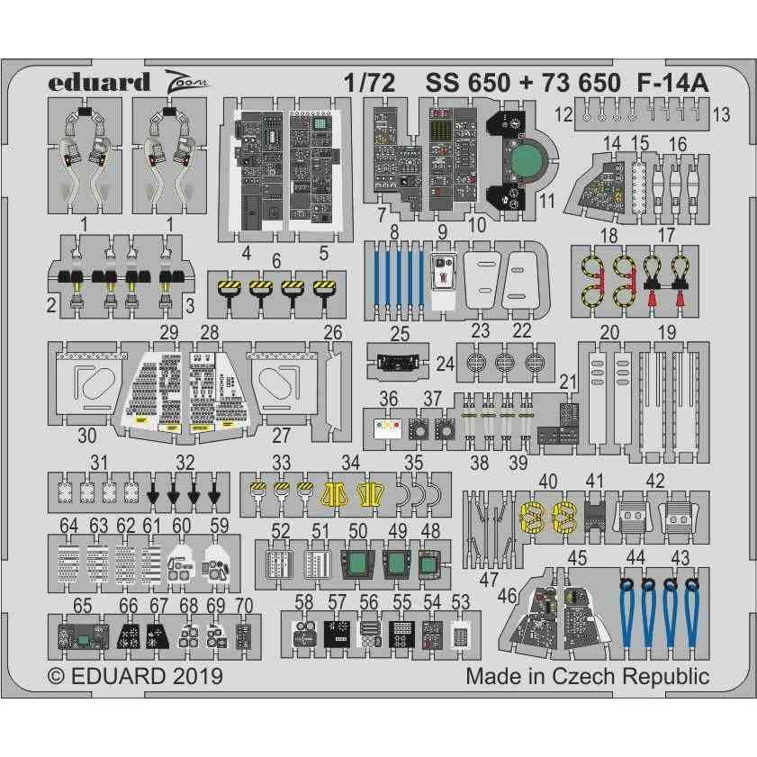 【新製品】73650 塗装済 F-14A トムキャット