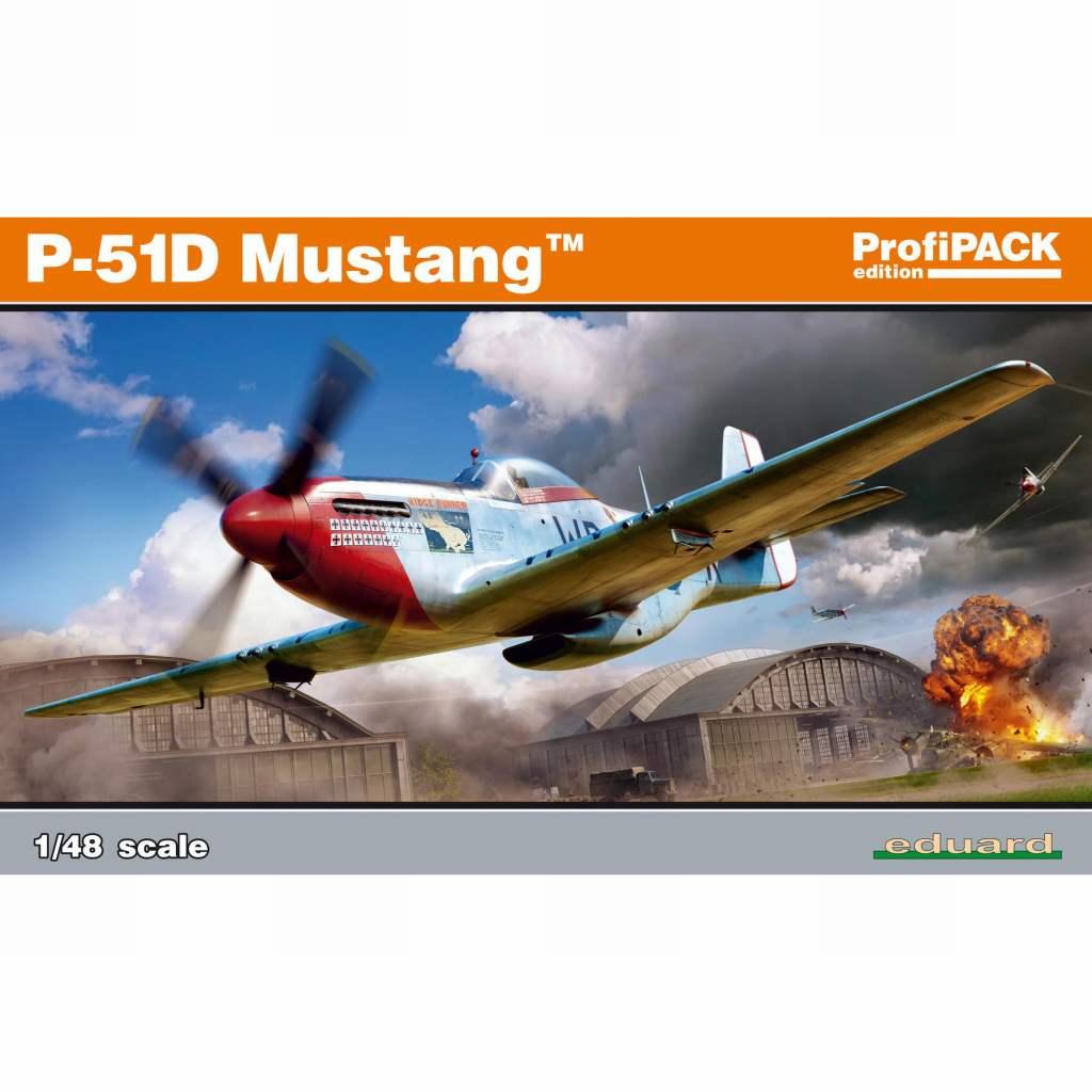 【新製品】82102 ノースアメリカン P-51D マスタング プロフィパック