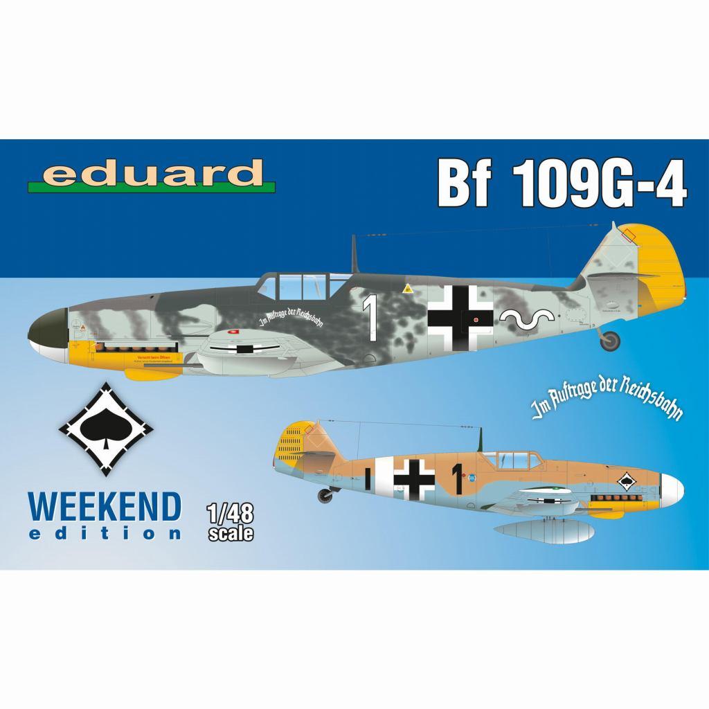 【新製品】84149 メッサーシュミット Bf109G-4 ウィークエンドエディション