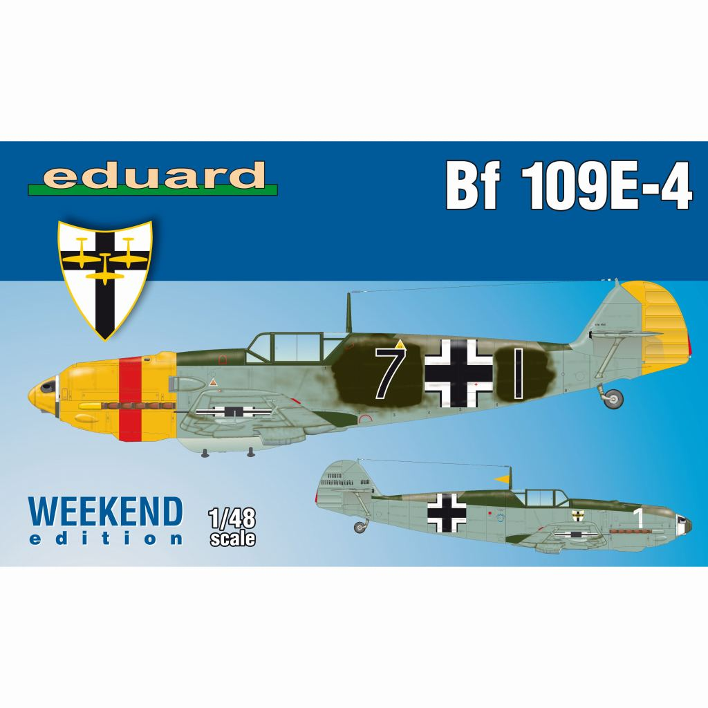【新製品】84153 メッサーシュミット Bf109E-4 ウィークエンドエデョション