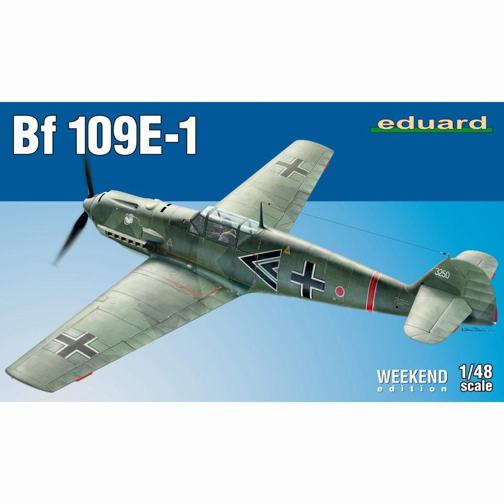 【新製品】84158 メッサーシュミット Bf109E-1 ウィークエンドエディション