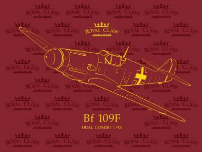 【新製品】R0014)メッサーシュミット Bf109F-2/4 ロイヤルクラス