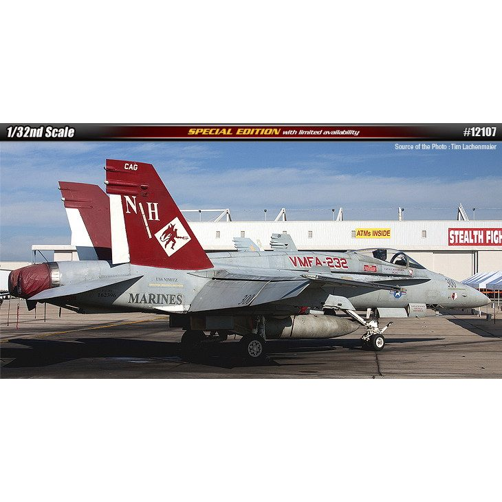 【新製品】12107 アメリカ海兵隊 F/A-18A+ ホーネット VMFA-232 レッドデビルス