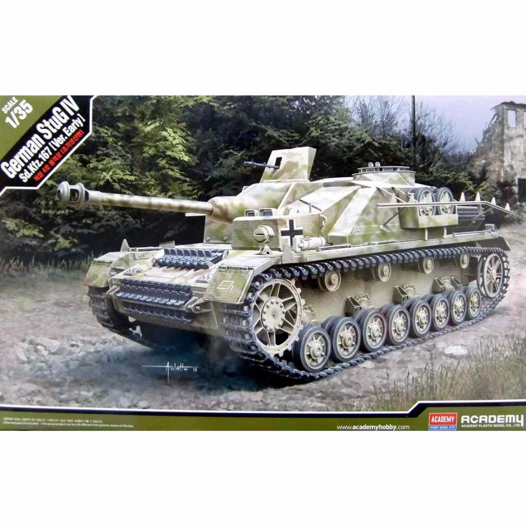 【新製品】13522 ドイツ IV号突撃砲G型 初期生産型