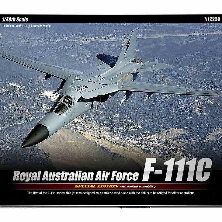 【新製品】12220 ジェネラル・ダイナミクス F-111C アードバーク オーストラリア空軍