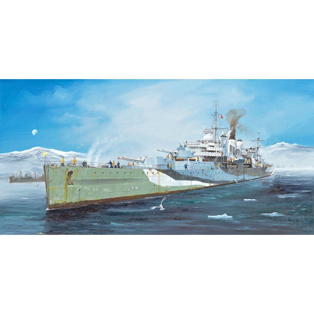 【新製品】05352 イギリス海軍 ケント級重巡洋艦 ケント